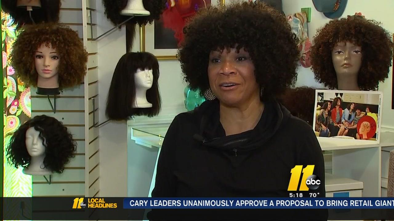 Wig shop aims to celebrate curly hair