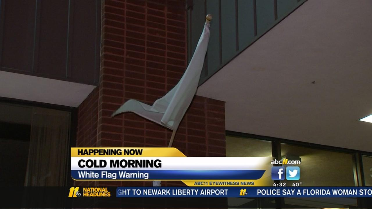 Cold temps prompts expansion of white flag program