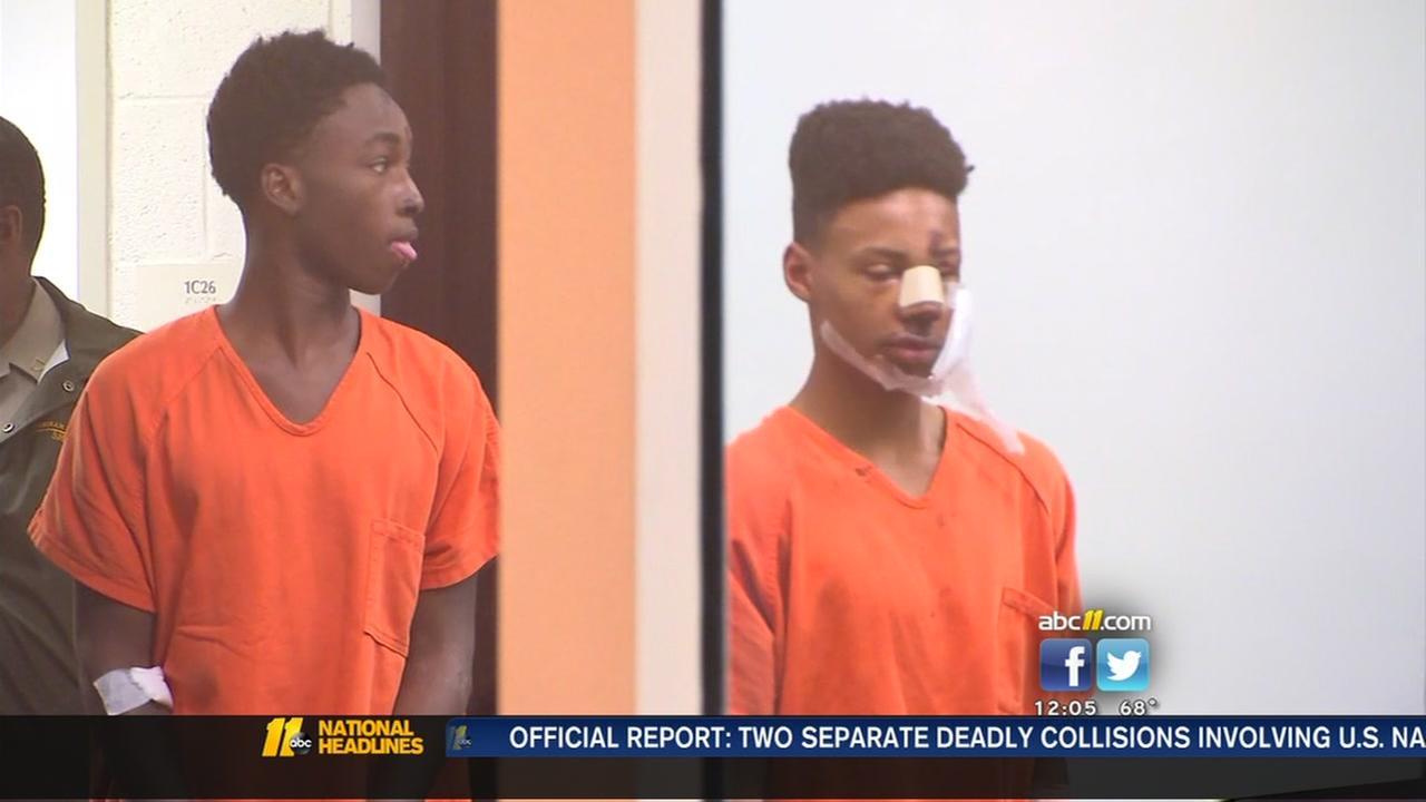 Violent crime spree suspects in court