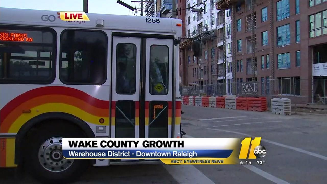 Wake County growth