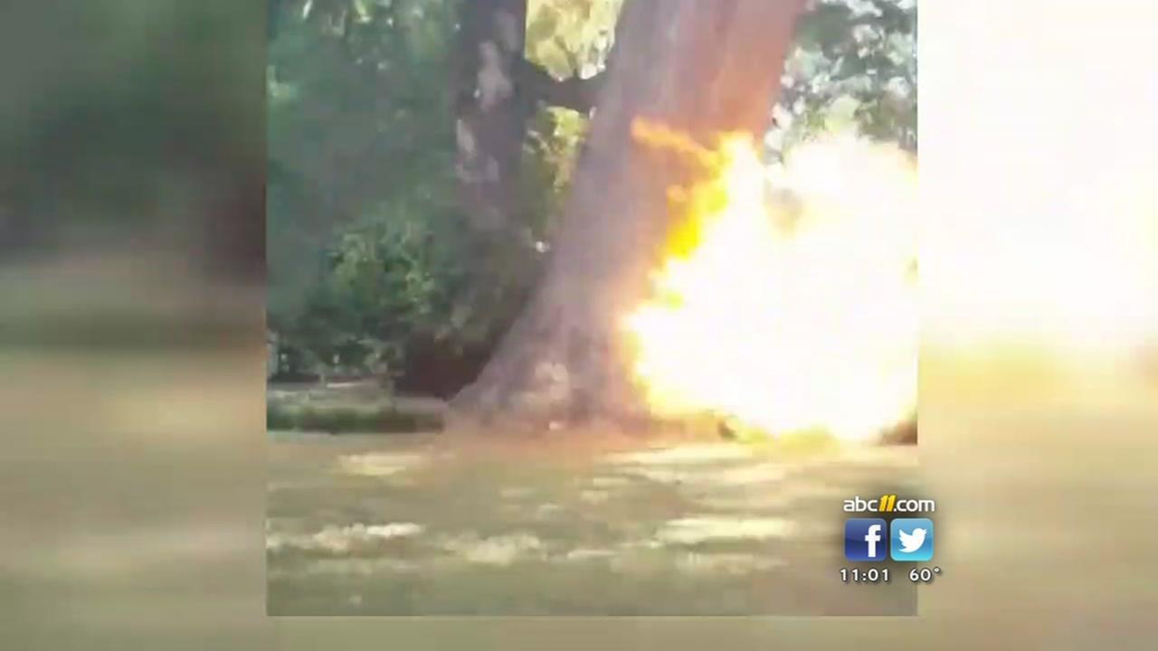 Device detonates on UNC campus