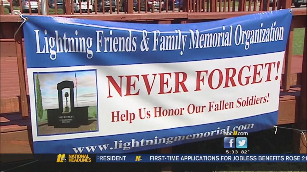 the 525th Battlefield Surveillance Brigade monument fundraiser