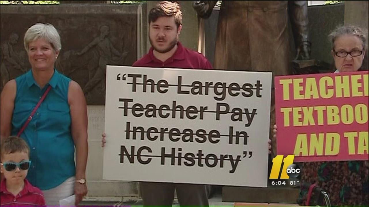 McCrory under fire for what some are calling misleading teacher pay raises