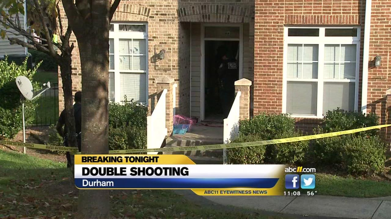 Durham police: 2 injured in double shooting