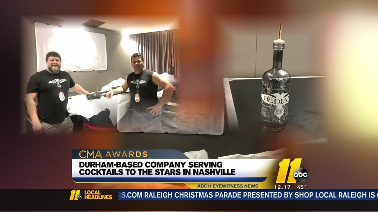 Durham-based company serving cocktails to the stars in Nashville