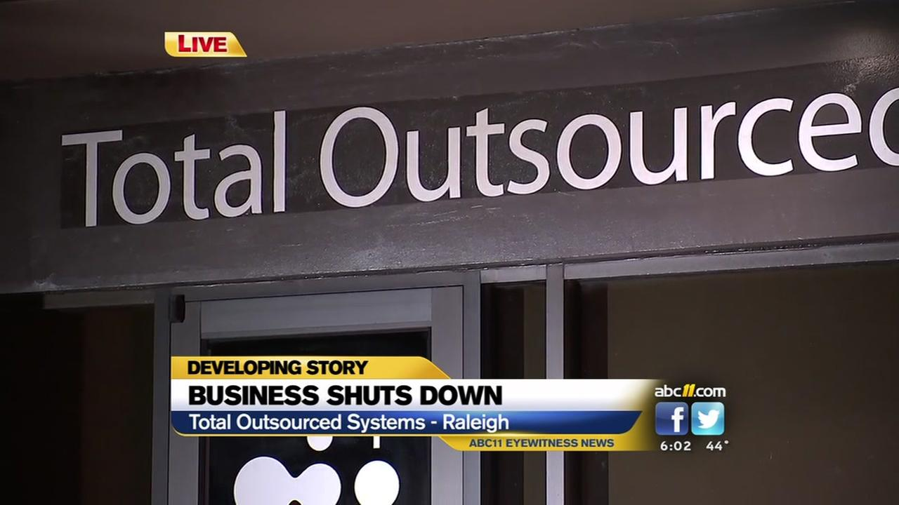 Raleigh business shuts down, leaves employees stunned