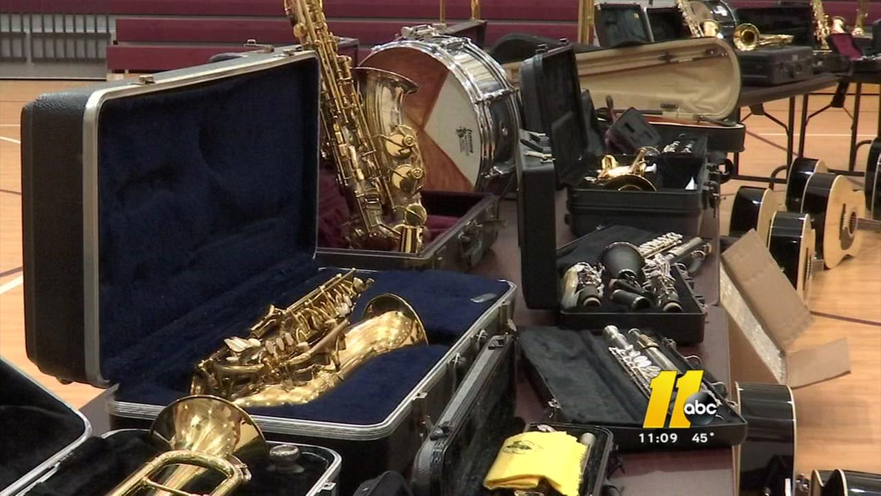 Cumberland County schools get the gift of music