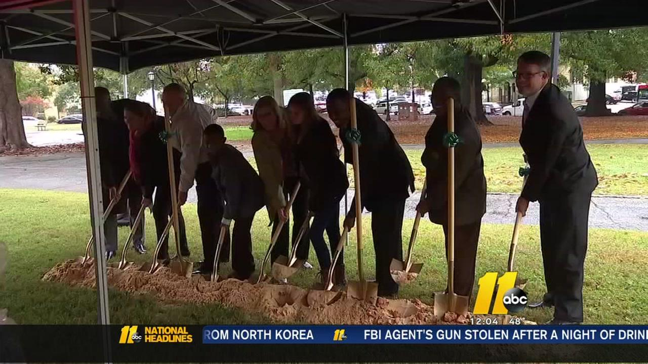 Ground broken on Moore Square changes