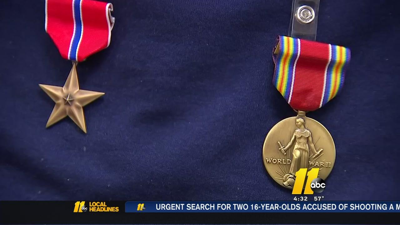 World War II veterans honored