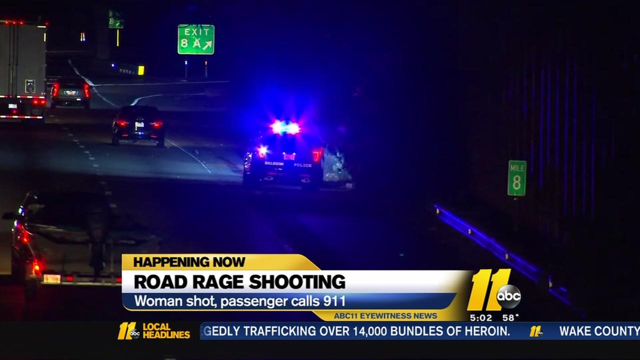 911 call reveals chilling moments of Raleigh I-440 road-rage shooting