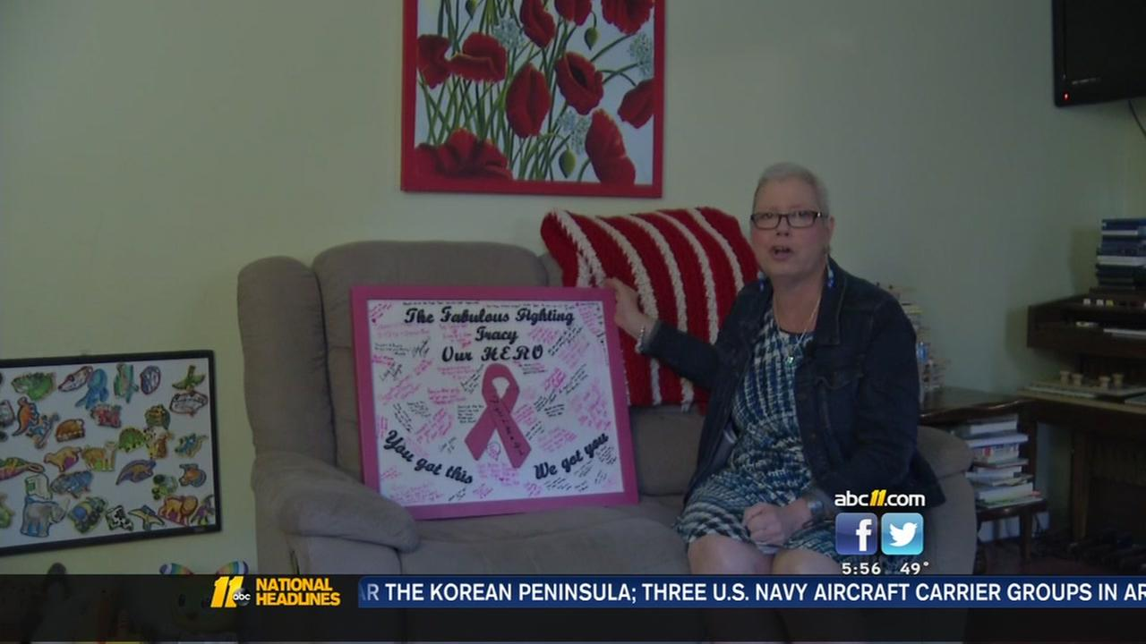 Durham supports city employee through breast cancer battle
