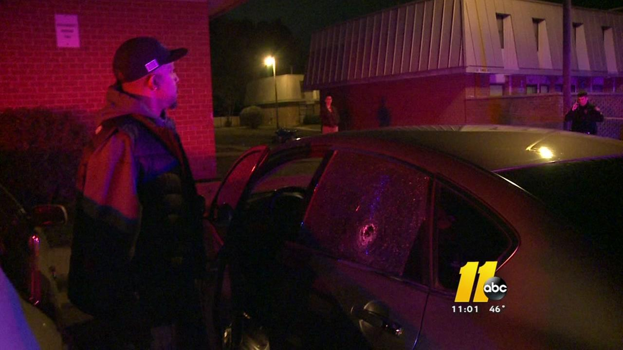 Durham man wounded when bullets fly on S. Hoover St