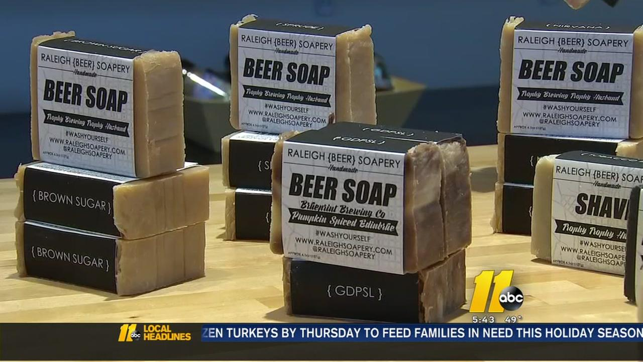 Raleigh Christmas Parade spotlight: Raleigh Beer Soapery