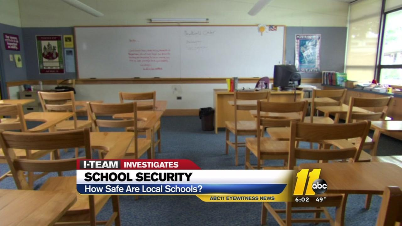 Update on security measures at Wake County schools