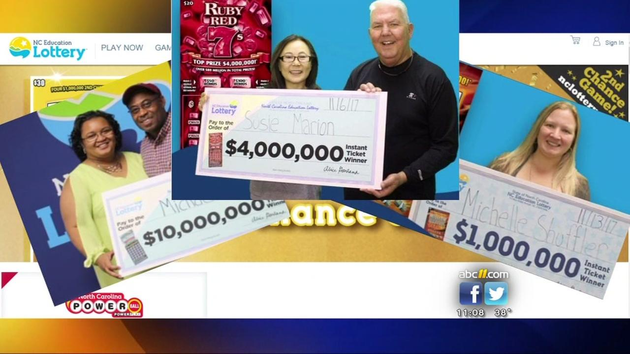 3 big lottery wins in our area! What are your chances of winning?