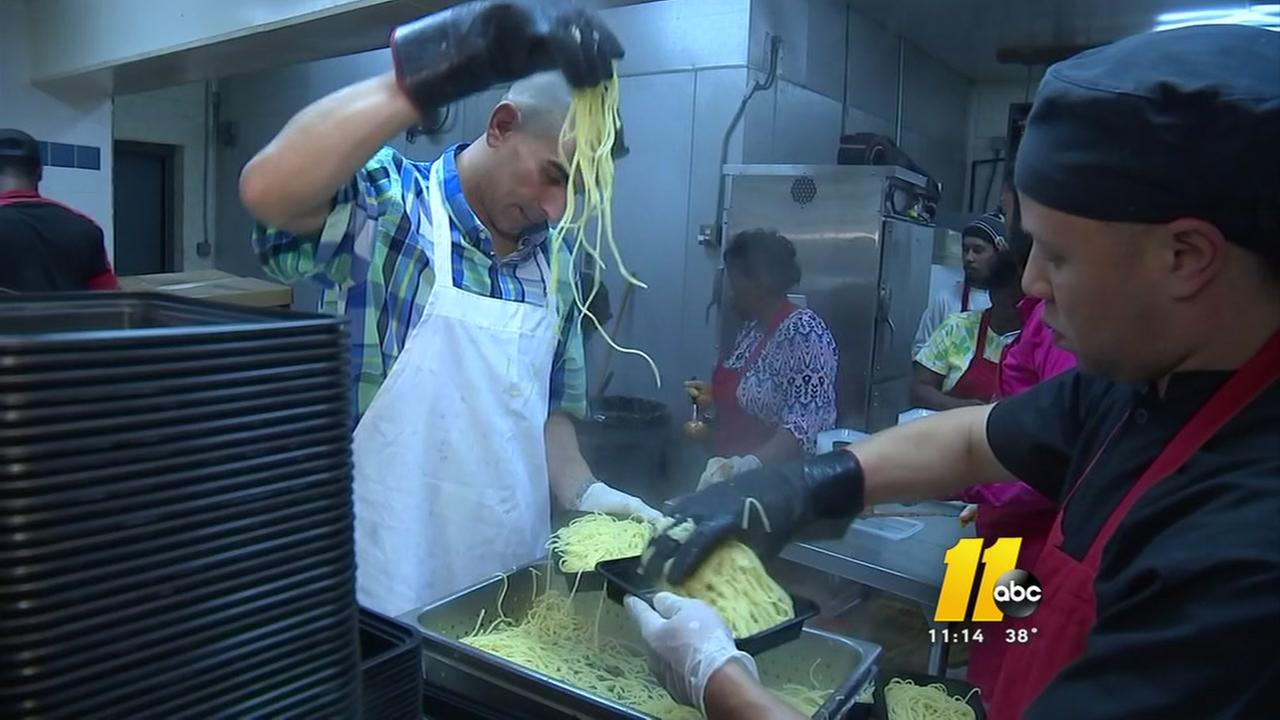 Fayetteville church hosts Worlds Largest Spaghetti Dinner