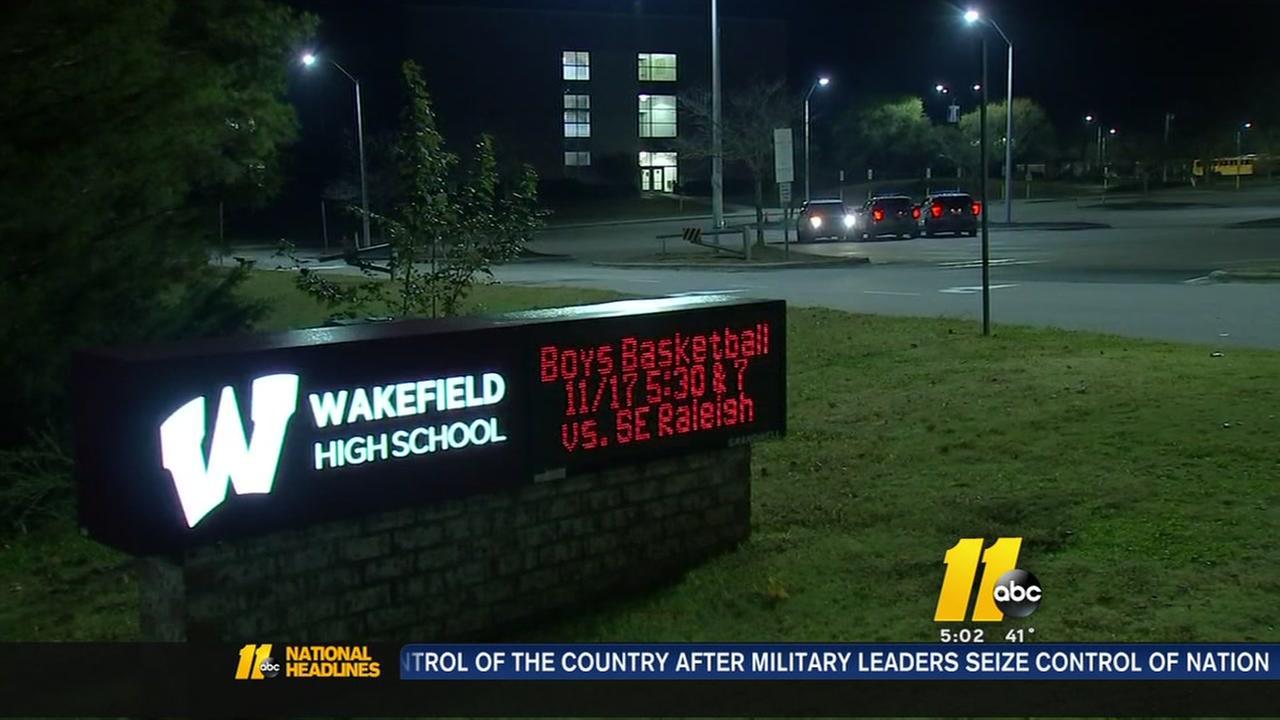 Wakefield High School on high alert following social media death threat