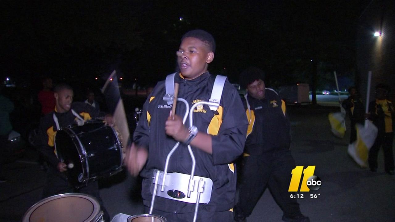Raleigh Christmas Parade spotlight: A Drummers World Drumline