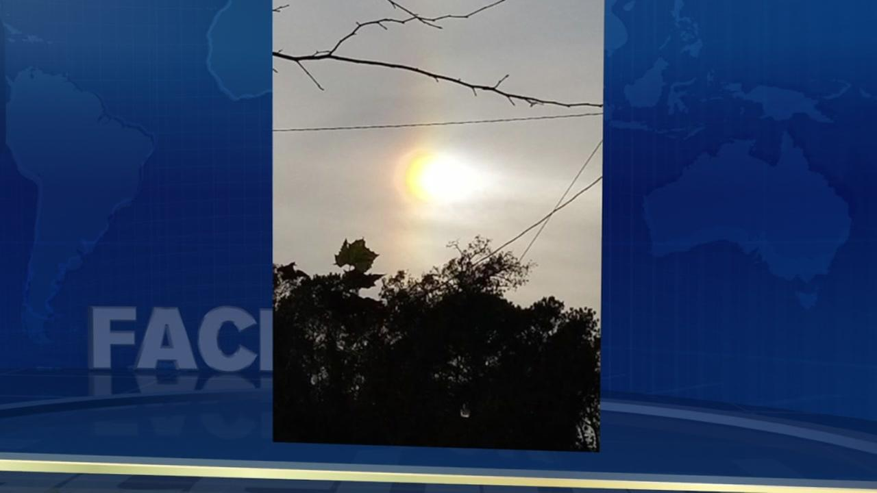 What is a sun dog?