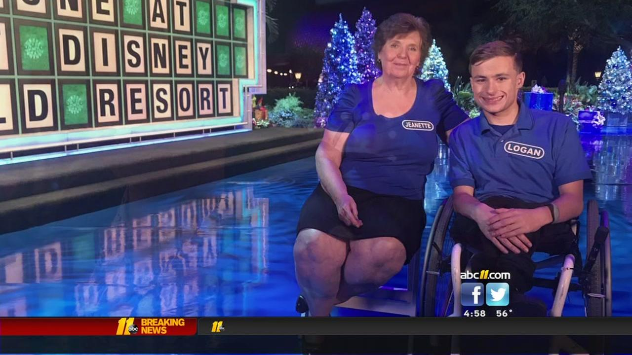 Roxboro teen, grandmother compete on Wheel of Fortune