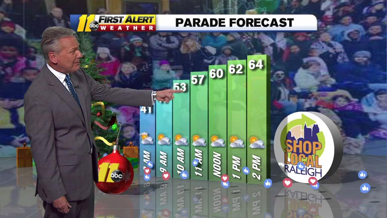 Christmas Parade weather