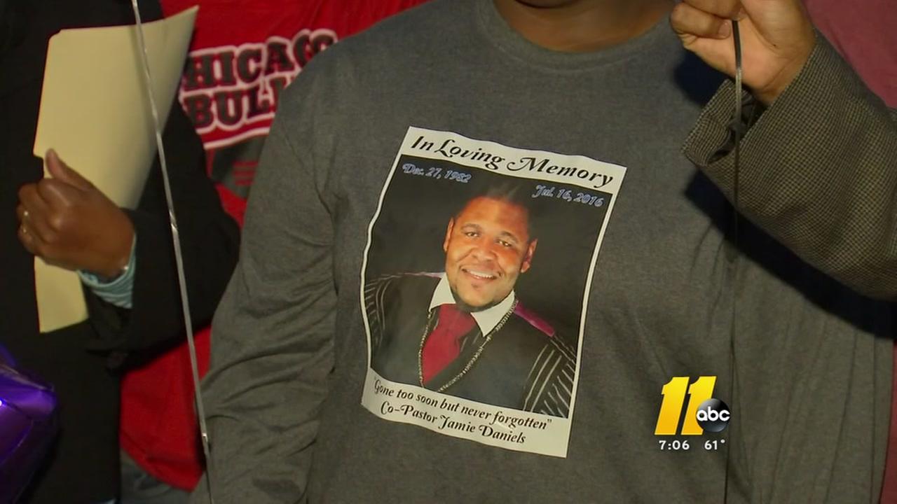 Vigil remembers slain Durham pastor