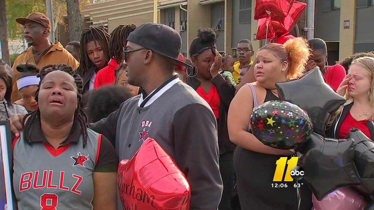Vigil remembers 16-year-old fatally shot in Durham