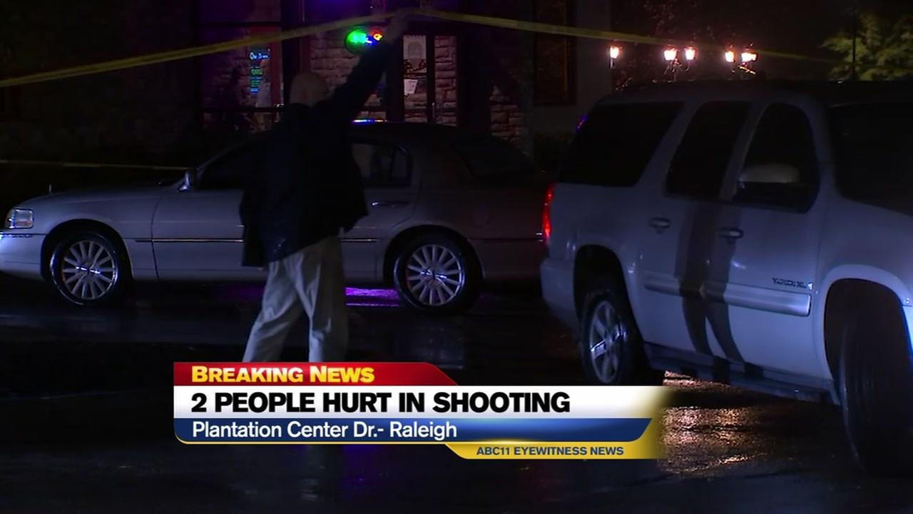 Police investigate shooting at Plantation Center Drive.