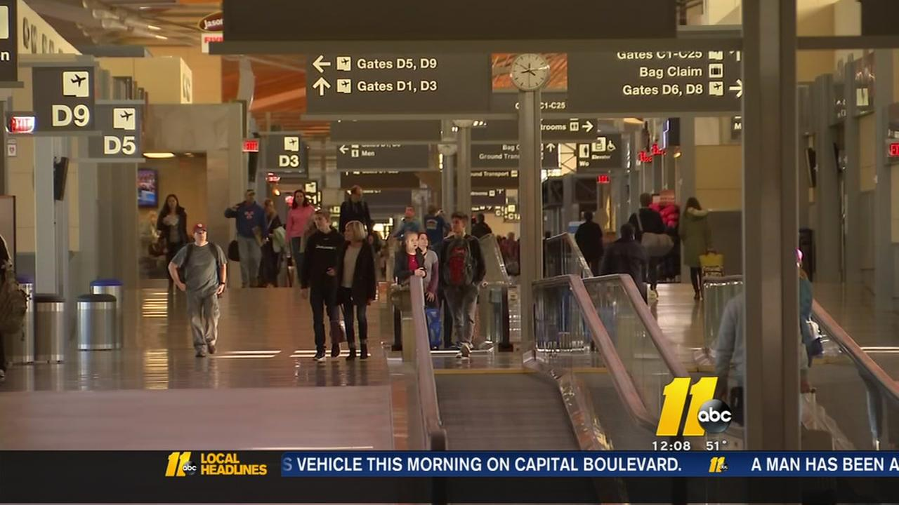 RDU prepared for holiday rush