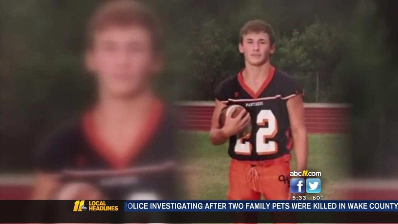 Update on injured Orange High football player