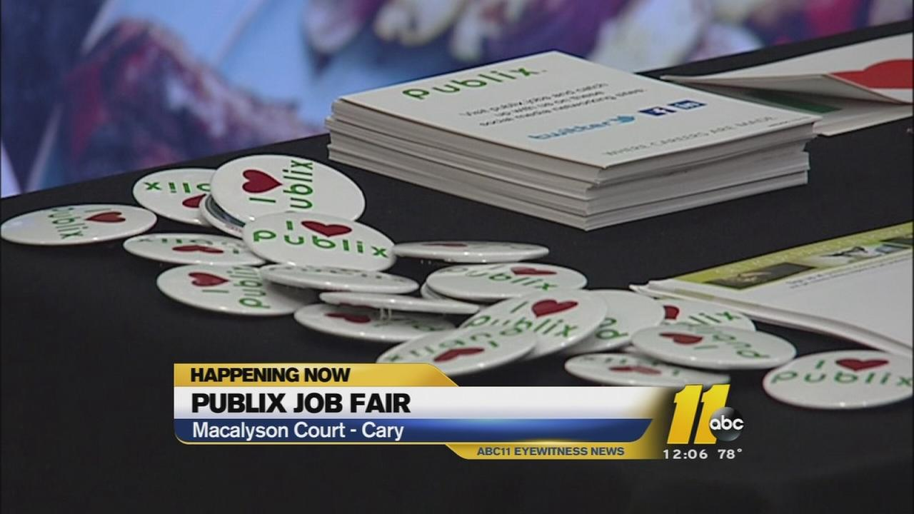 Publix job fair held in Cary