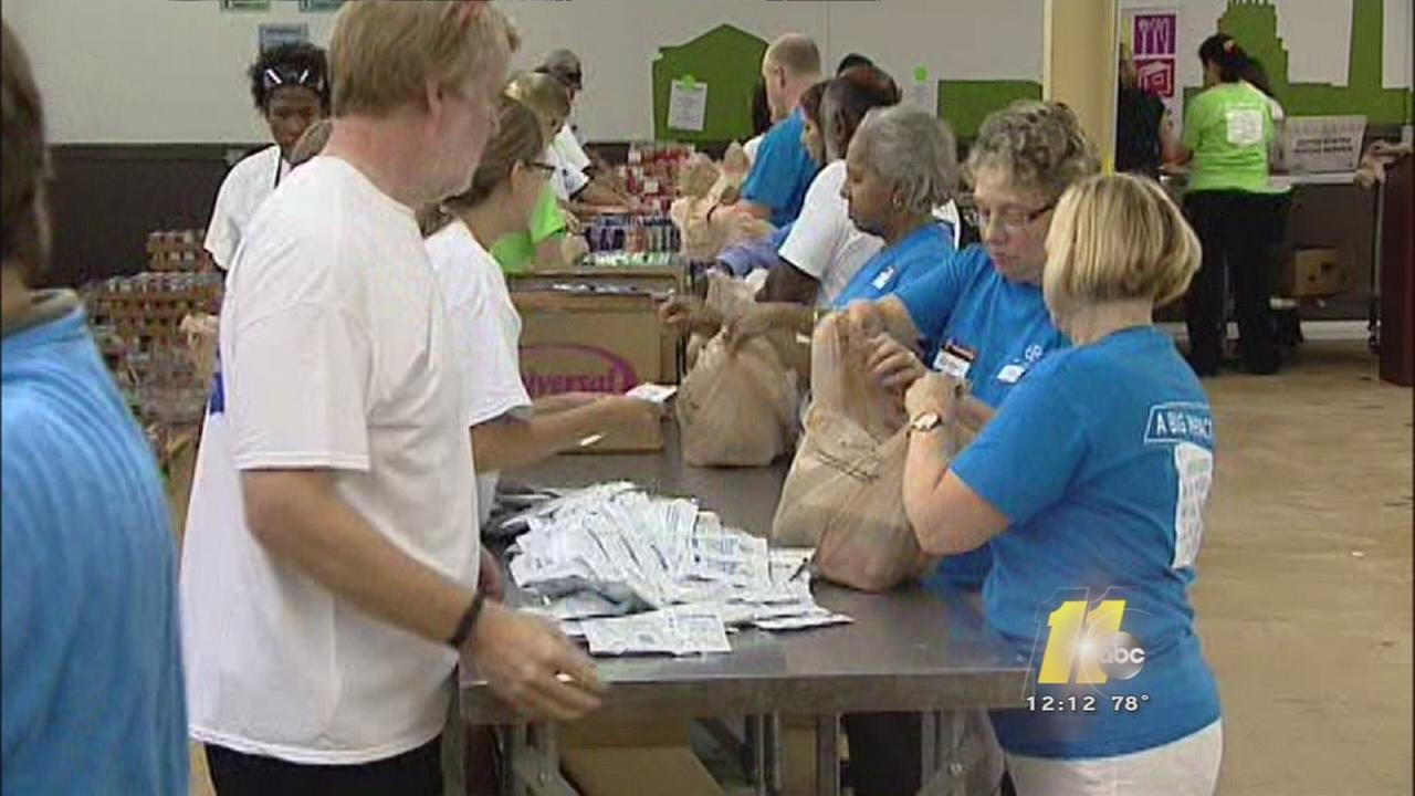 Organization committed to feeding those in need gets major help