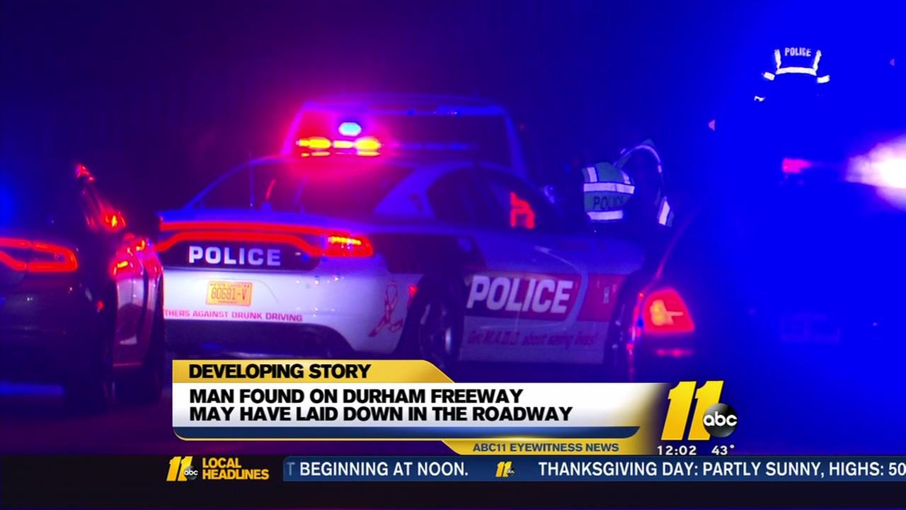Body found on Durham Freeway after possible hit-and-run