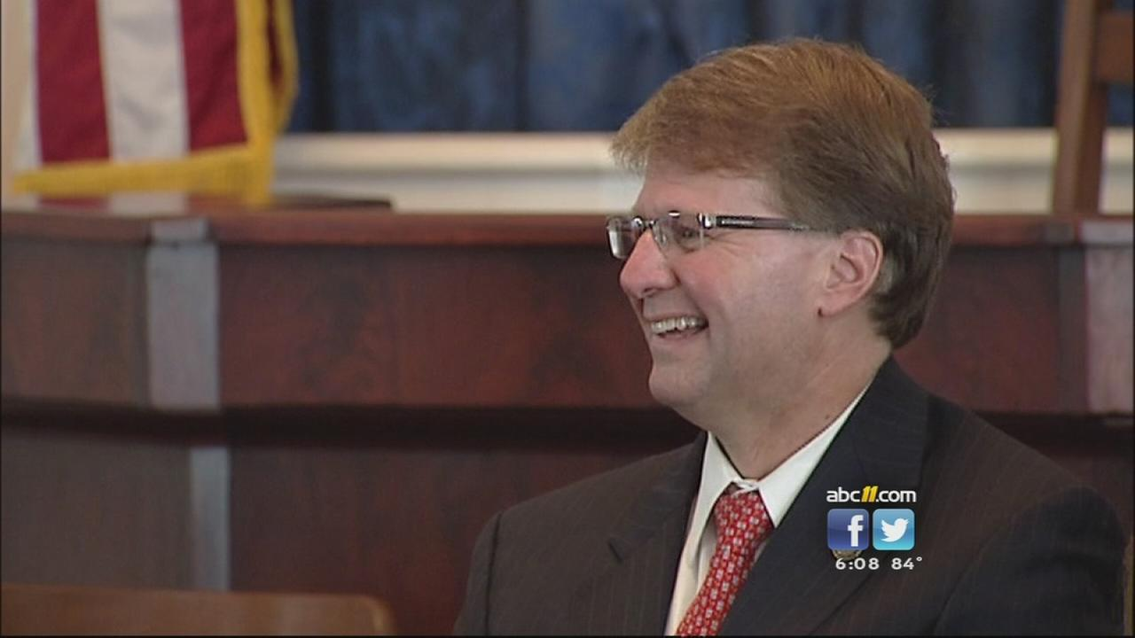 McCrory names new Chief Justice of NC Supreme Court