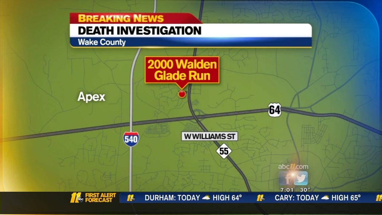 An accidental gunshot kills a woman in Apex.