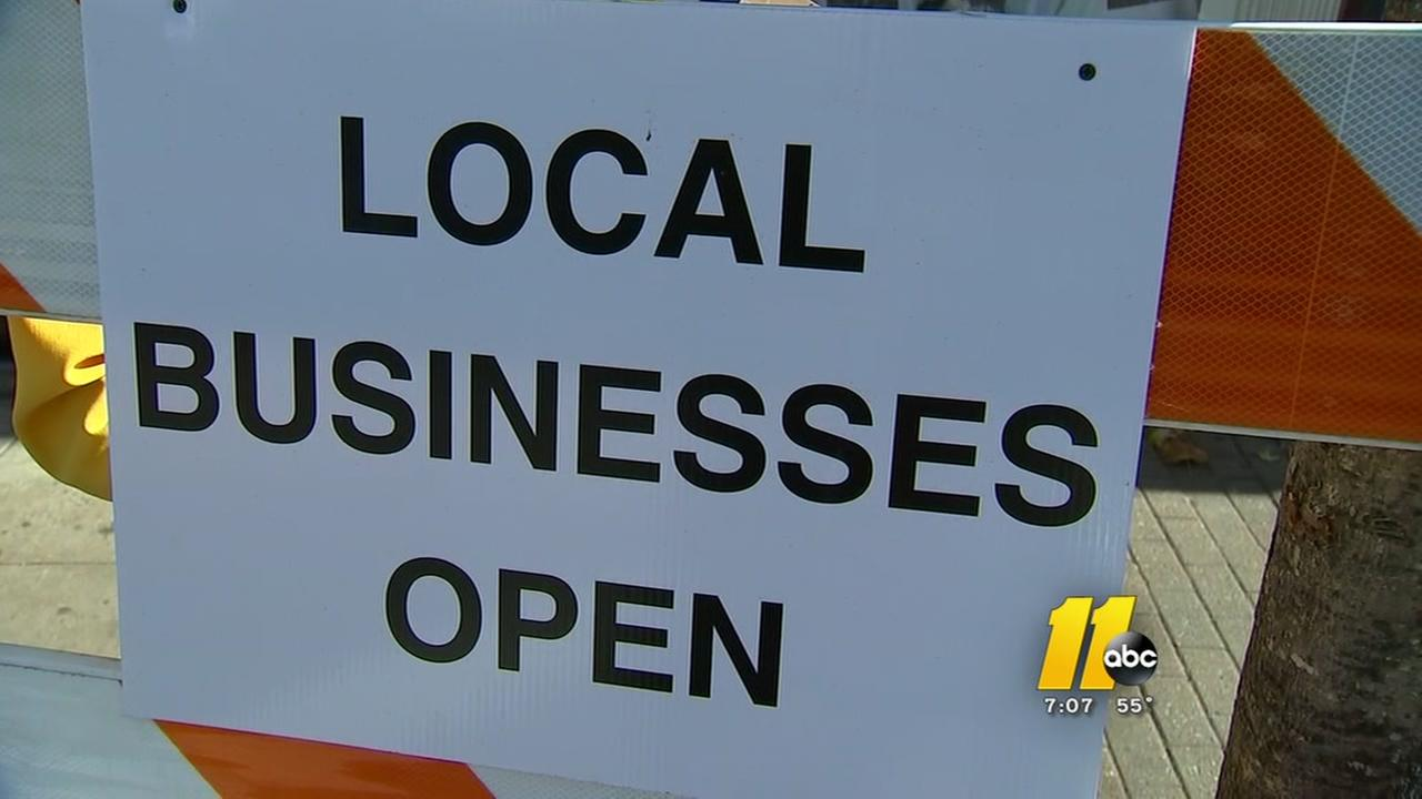 Small businesses court shoppers on Saturday