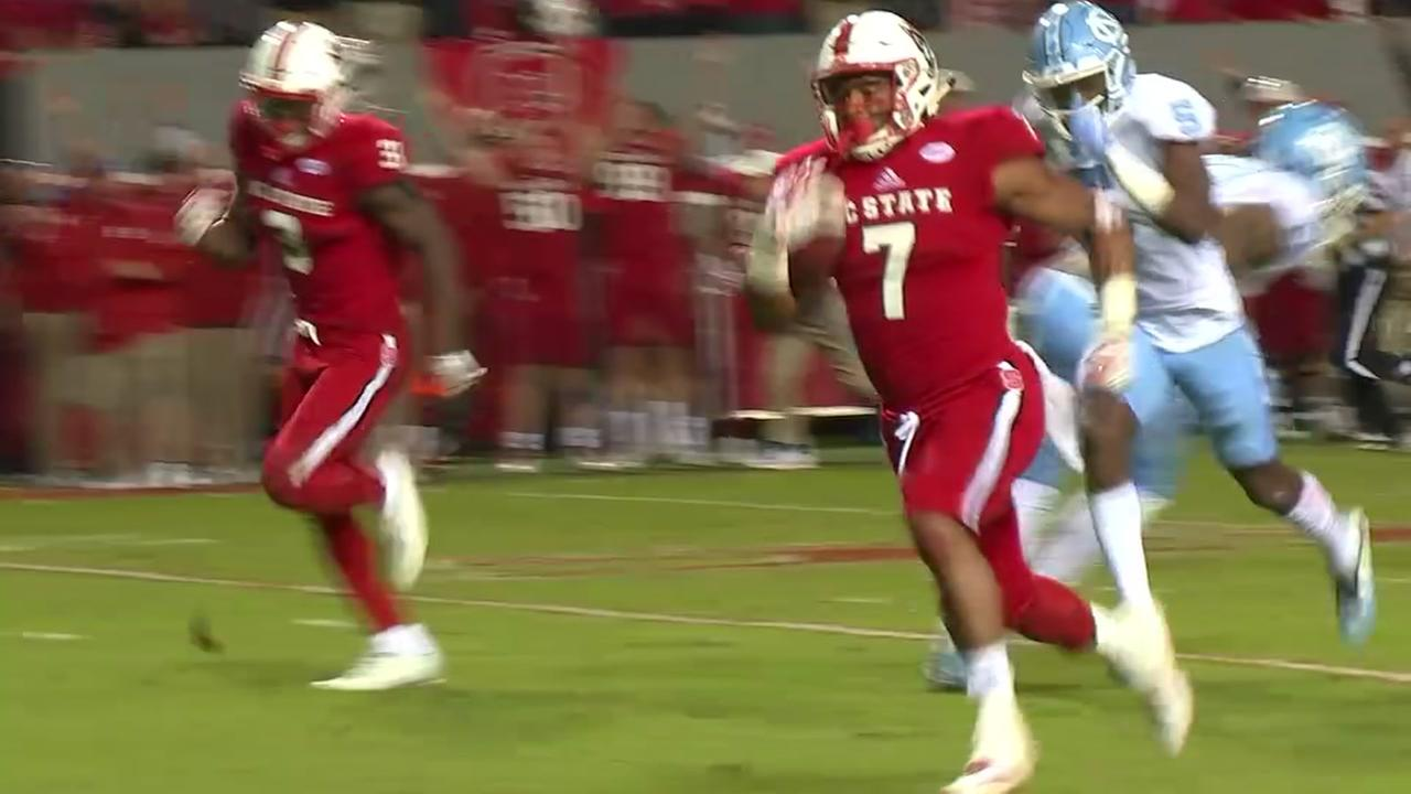 NC State defeats Carolina, 33-21