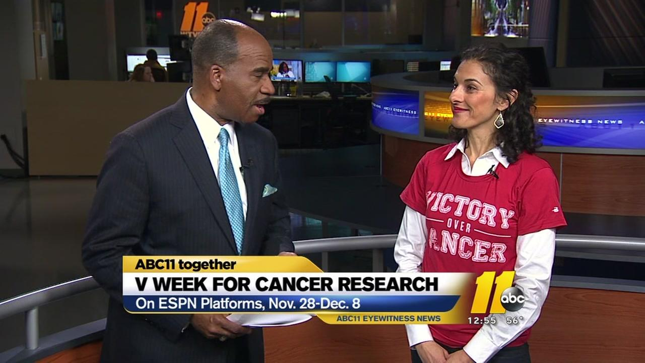 ESPNs V Week for Cancer Research gets underway