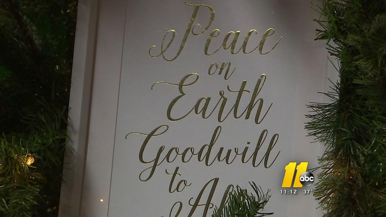 Fayetteville shelter spruces up for the holidays