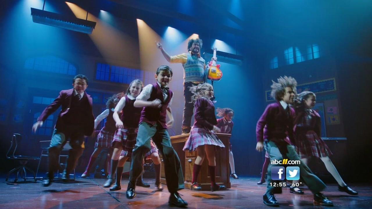 School of Rock The Musical now playing at DPAC