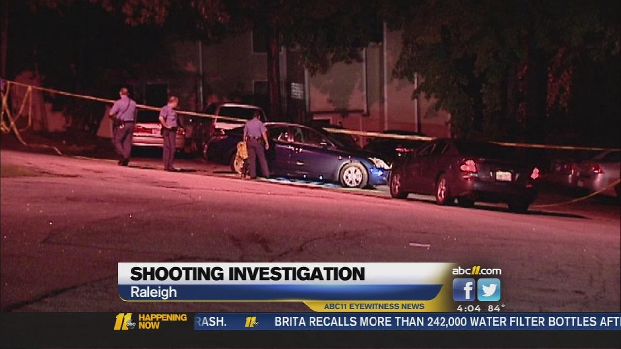 Woman, baby hurt in Raleigh apartment shooting