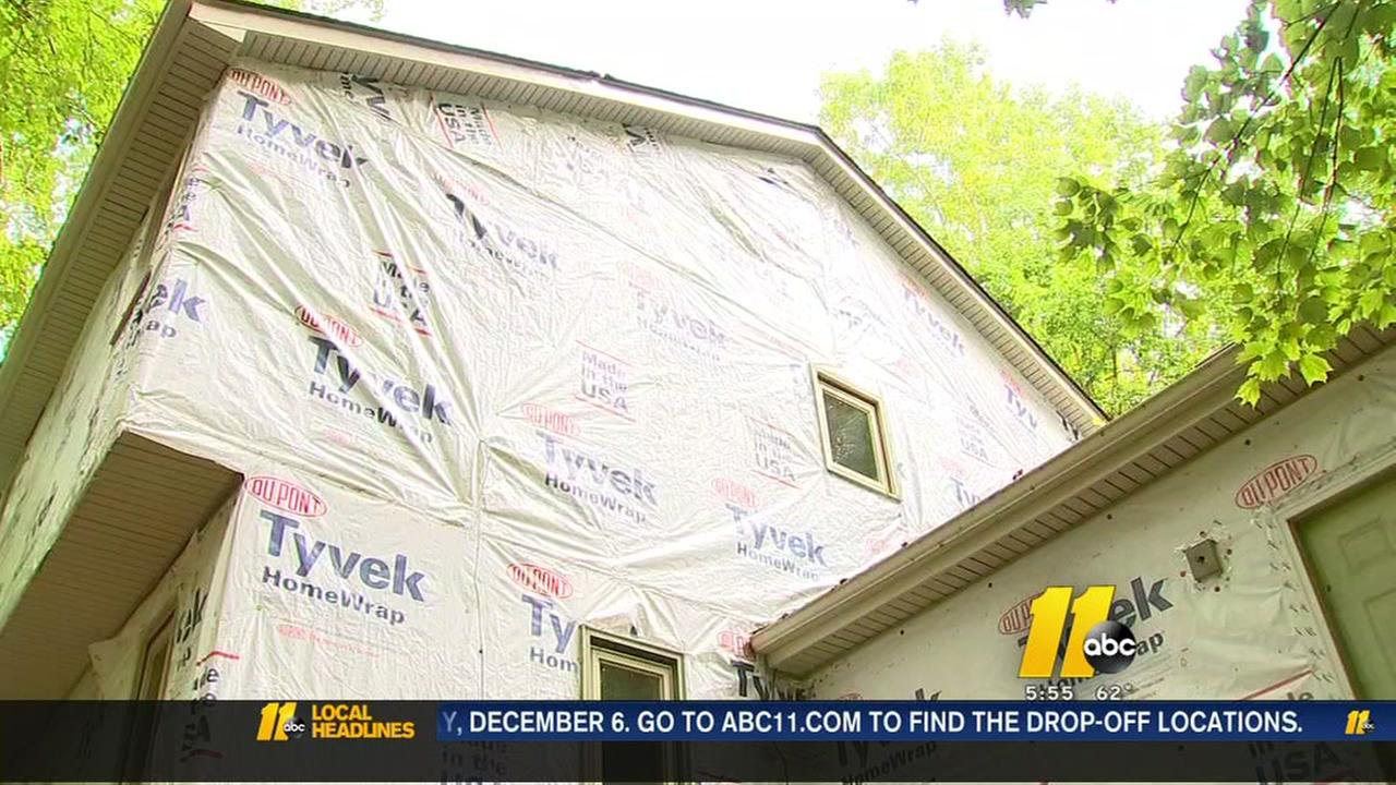 Cary home improvement job takes two years to complete