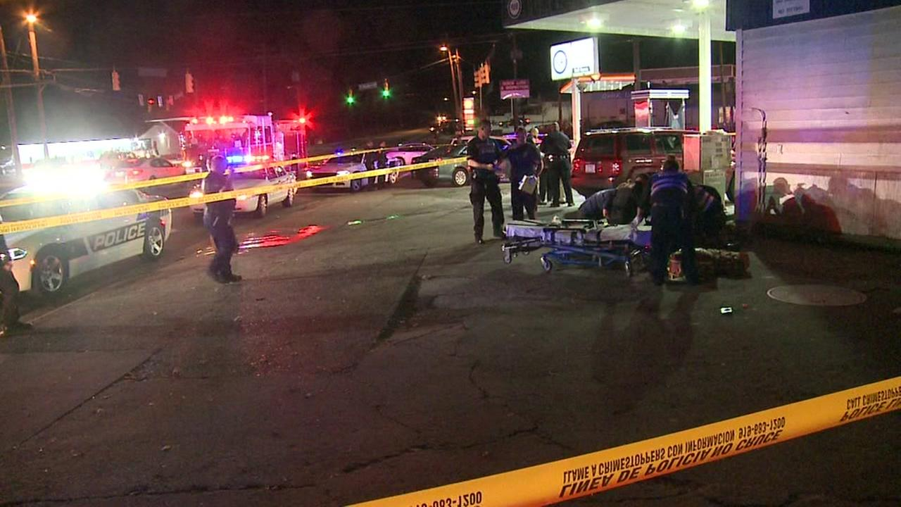One injured in shooting at Durham gas station