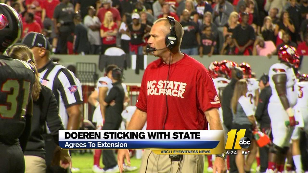 Dave Doeren staying at NC State