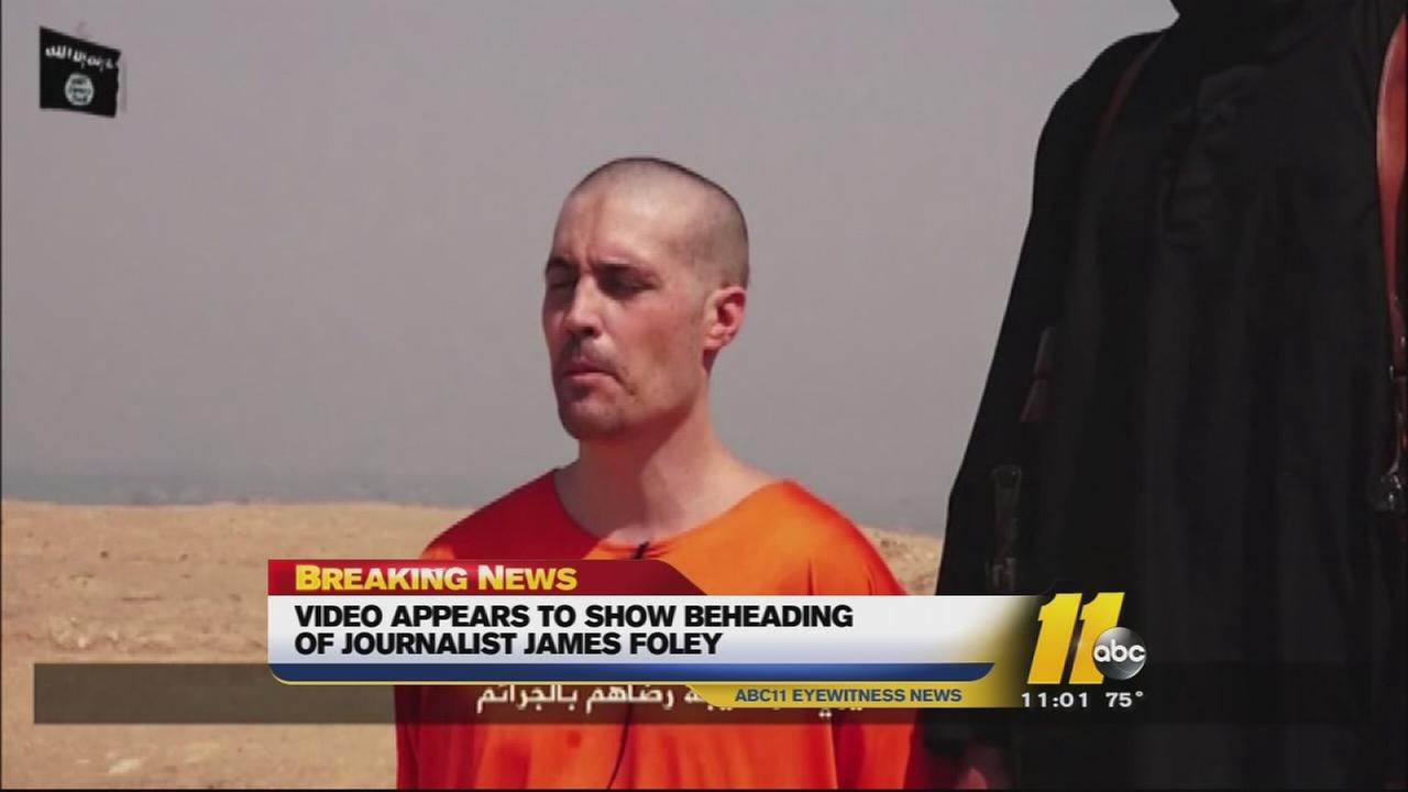 A disturbing video posted online appears to show the beheading of American journalist James Foley, who was kidnapped while covering the Syrian conflict in 2012.