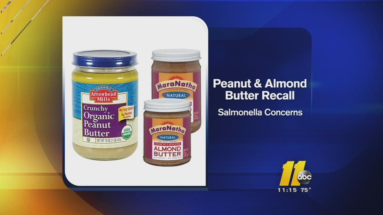 peanut butter recalled