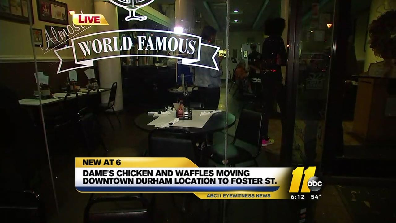 Dames Chicken and Waffles moving to new location
