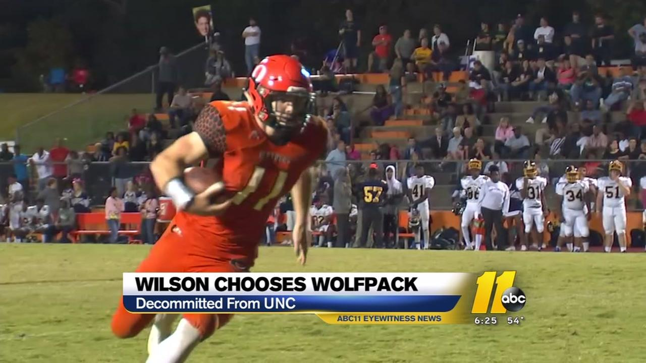 Payton Wilson chooses the Wolfpack