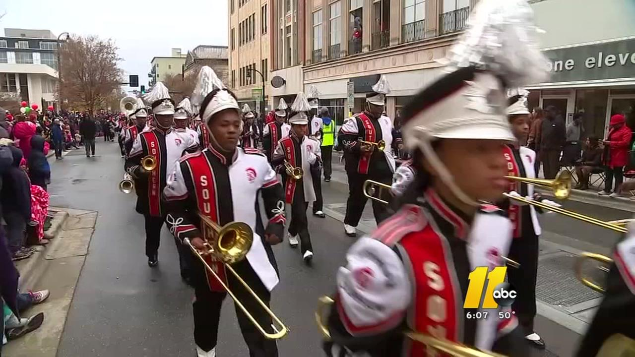 Durham Holiday Parade draws another big crowd downtown