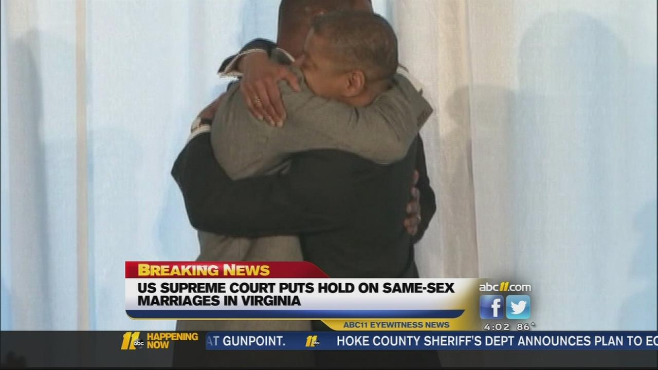 High court blocks same-sex unions in Virginia